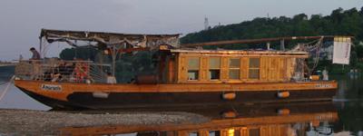 Le bateau Amarante en 2015 avant les travaux