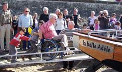Accès aux personnes présentant un handicap moteur